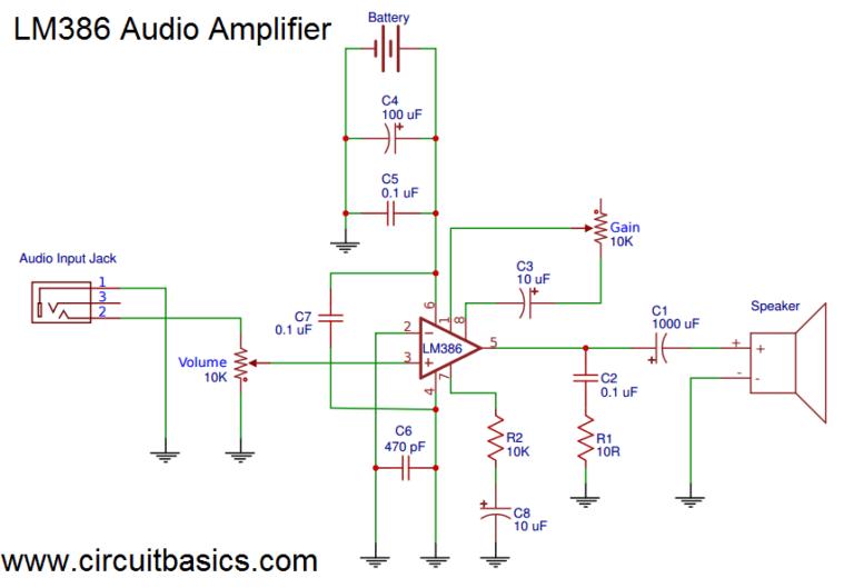 LM386 Amplifier