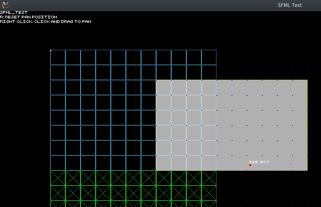 Selecting tiles in my soon-to-be map editor...